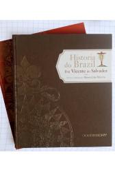 História do Brazil: Frei Vicente do Salvador (2 volumes)