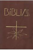 Bíblia de Aparecida Bolso - Marrom Com Zíper