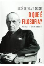 O Que É Filosofia? - Posfácio de María Zambrano