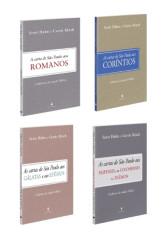 KIT - Cartas de São Paulo (Cadernos de Estudo Bíblico) - 4 Livros